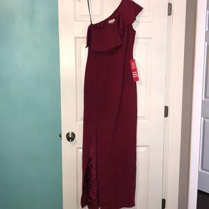 NWT red Calvin Klein dress, size 2